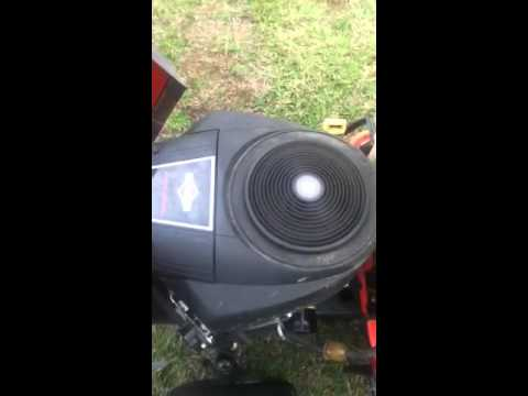 Briggs and Stratton 22 hp v-twin engine