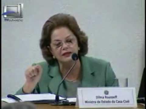 Dilma Rousseff e a resposta que demoliu o senador Agripino Maia (DEM-RN)