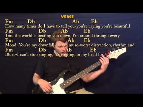 All Of Me (john Legend) Bass Guitar Cover Lesson With Chords   Lyrics video