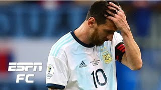 Lionel Messi looks like he's had enough with Argentina - Craig Burley | Copa America