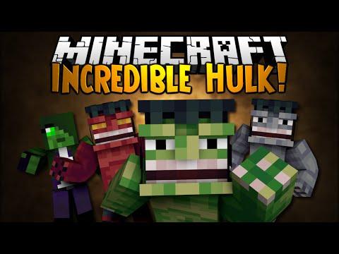 Minecraft Mod Showcase: INCREDIBLE HULK!