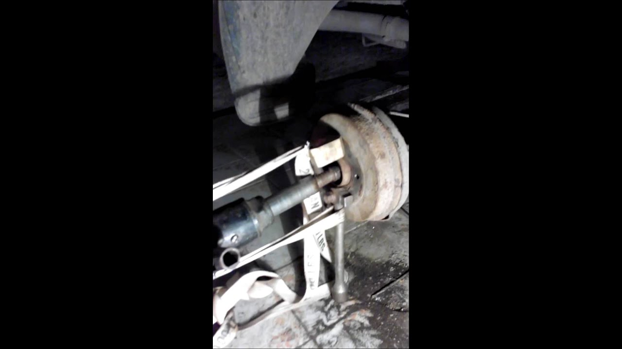 Съемник заднего барабана рено логан