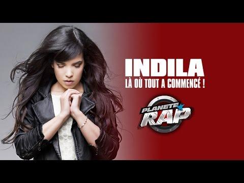 Indila dans Planète Rap : là où tout a commencé !