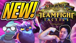 Flexing in the New Teamfight Tactics Beta! | New TFT PBE Gameplay | League of Legends Auto Chess