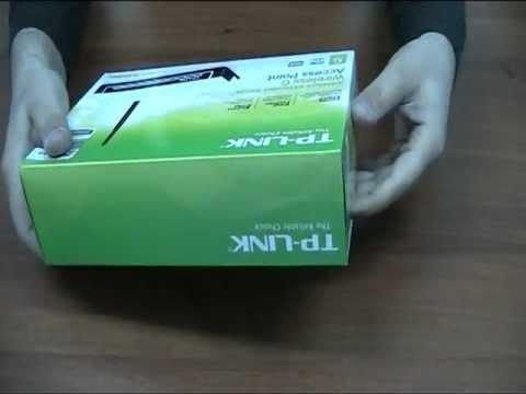 Unboxing Tp-Link AP TL-WA500G