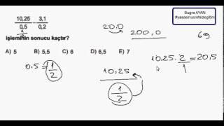 1000 Soruda YGS Matematik Bölüm 69