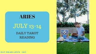 "ARIES - ""SOMEONE WANTS YOU SO BAD"" JULY 13-14 DAILY TAROT READING"