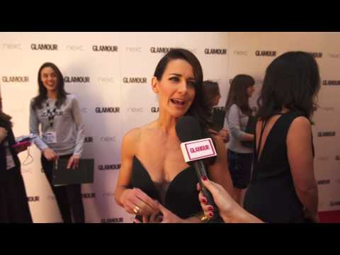 Kirsty Gallacher Interview Glamour Awards 2015