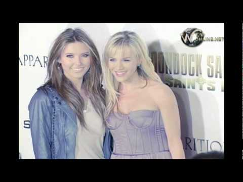 Audrina Patridge and Julie Benz arrive at Boondock Saints 2 Premiere Video