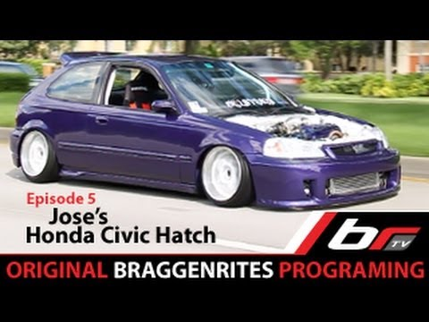 Joses Honda Civic EK Hatch BRtv Episode 5 YouTube