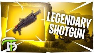 SEARCHING FOR THE LEGENDARY HEAVY SHOTGUN (Fortnite Battle Royale)