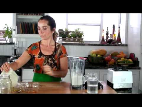 Raw Vegan Almond Cheese [Chef Tina Jo's Recipes]