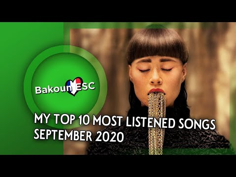 My Top 10 Most Listened Songs • September 2020