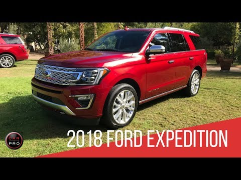 All-New 2018 Ford Expedition: Design and Features