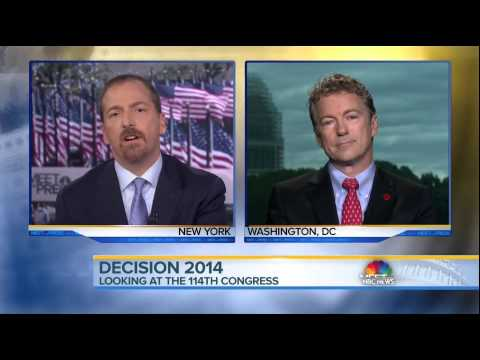 Rand Paul on NBC 'Meet The Press' 11/2/14