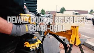 FIRST LOOK! Dewalt DCD996 brushless combi-drill