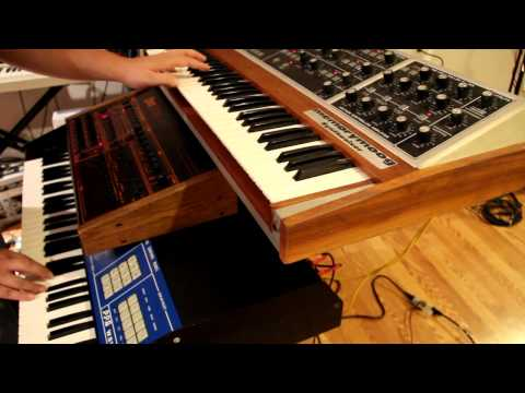 King-style 80s synth pop with Memorymoog, LinnDrum, and PPG Wave 2.3 klip izle