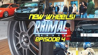 BOUGHT NEW WHEELS FOR 2 CARS! - PRIMAL GARAGE EP 4