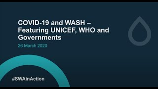 SWA Special Webinar on COVID-19 and WASH Featuring UNICEF, WHO and Governments: English Audio
