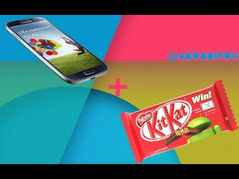 Como Instalar Android 4.4 Kit Kat en Samsung Galaxy s4 / Español / Review / ROOT / ROM Kit Kat 4.4
