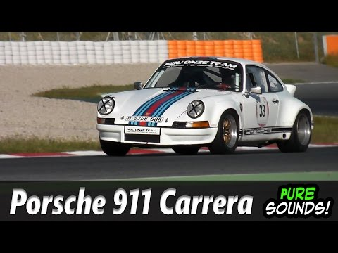 Porsche 911 RS Sound - RS 2.7 & RS 3.0 Porsche Pure sound on Track!