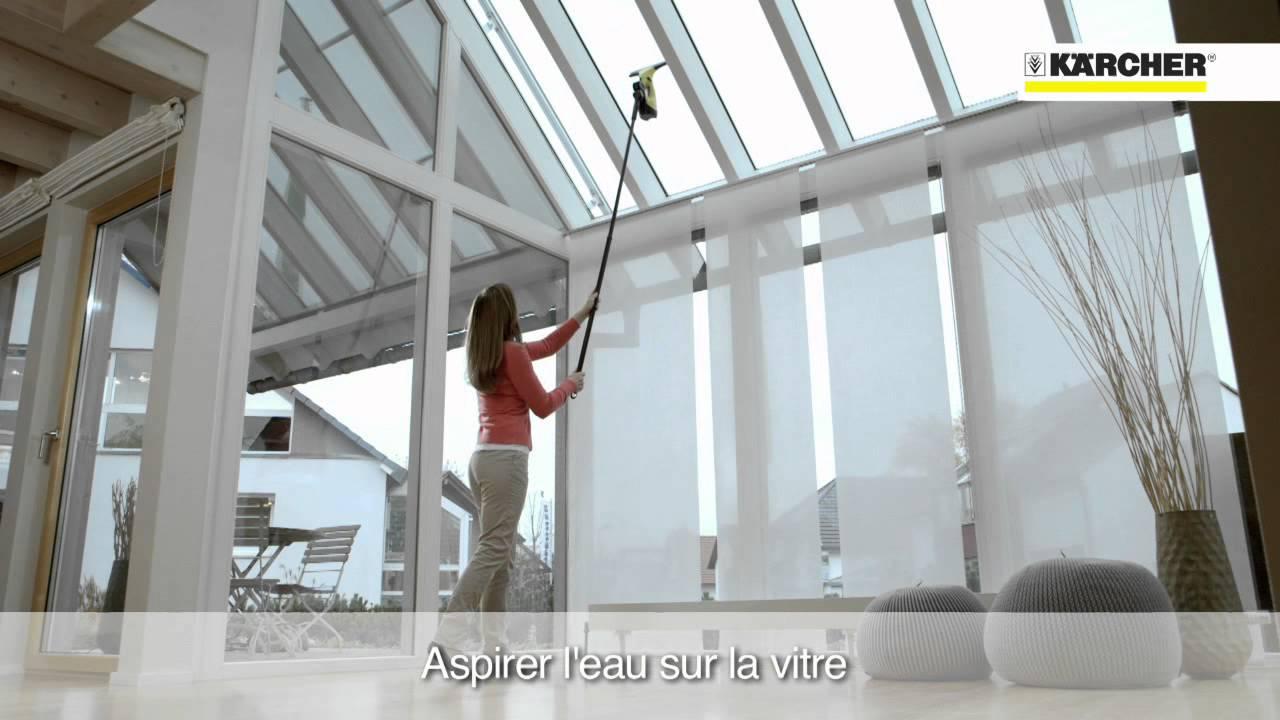 k rcher extension nettoyeur de vitres wv youtube. Black Bedroom Furniture Sets. Home Design Ideas