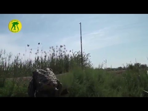 Iraqi Popular Mobilization Units - Camera crew taking fire from ISIS in Anbar