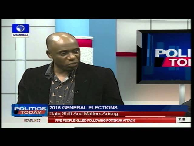 Politics Today: Governor Amaechi Insists President Jonathan Postponed Election  Part2