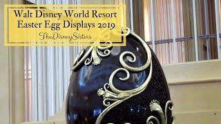 Walt Disney World Resort Easter Egg Displays 2019 - TheDisneySisters