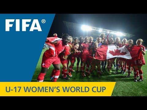 Levasseur double leads Canadian girls
