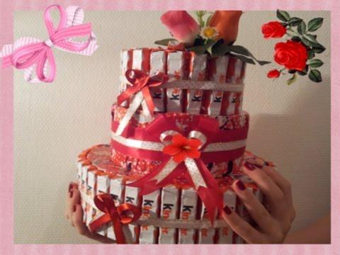 Торт из барни и сока своими руками