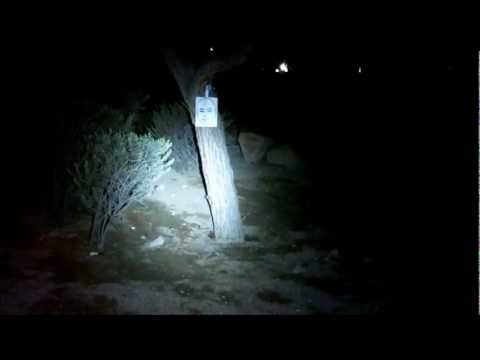 Streamlight ProTac HL 600 lumen test footage