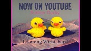 Rainbow Loom Bird Loomigurumi Amigurumi 3D Toy - crochet ...