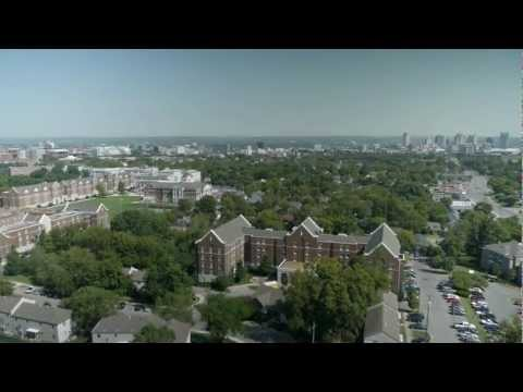A bird's eye view of Belmont University