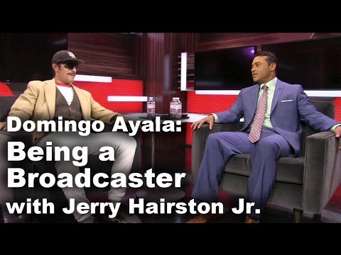 Being a Broadcaster with Domingo Ayala