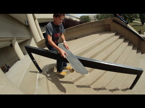 Skate Hanrails: 5 Tricks in 1 Session