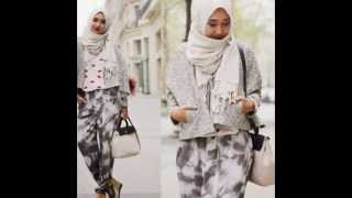 Fashion Hijab Casual ala Dian Pelangi