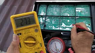 แนวทางเช็คซ่อมแอร์บ้าน MITSUBISHI ELECTRIC INVERTER R32 รุ่น MUY-KP18VF-TH1 ตอนที่2