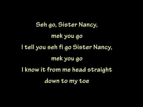 Bam Bam - Sister Nancy (lyrics)