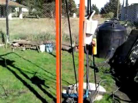 Maquina perforadora para pozos de agua youtube - Bombas de agua para pozos ...