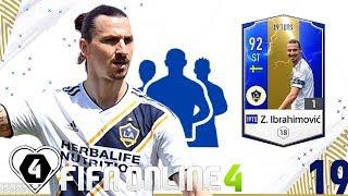 FIFA Online 4   Review Trải Nghiệm Nhanh Mùa 19TOTS: Zlatan Ibrahimovic - A. Lacazette