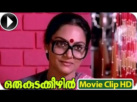 Malayalam Full Movie - Oru Kudakkezhil - Romantic Scene - Part...