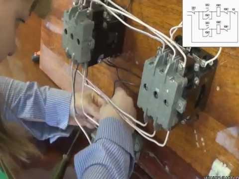 Как сделать электродвигатель 220 в с реверсом