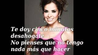 Gloria Trevi Cinco Minutos Letra