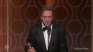 Hugh Laurie rips Trump at the Golden Globes