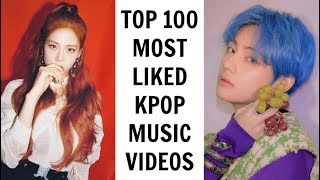 [TOP 100] MOST LIKED KPOP MUSIC VIDEOS ON YOUTUBE | April 2019