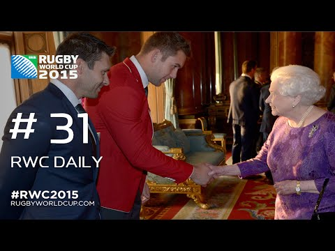 Captains and coaches meet royalty - RWC Daily