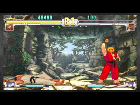 Two Brothers Played the Crap Outta SFIII: Ken (ChidoriSnake) vs Ryu (Kai)