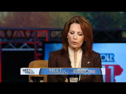 MIchele Bachmann: 'I don't judge gays'