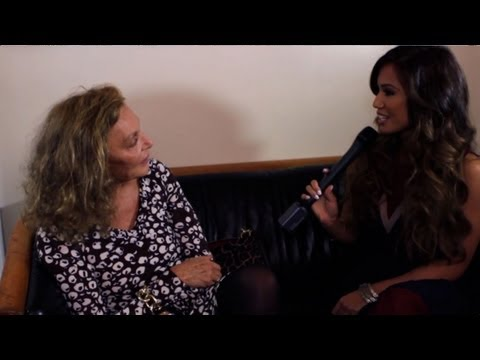 Jessi Malay - Diane Von Furstenberg Nyfw Interview video